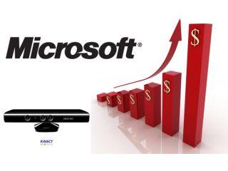 Microsoft marc� record en ganancias gracias a Xbox y Kinect