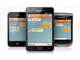 Samsung tambi�n lanza su propio servicio de mensajer�a instant�nea