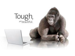 Nuevo Gorilla Glass para pantallas t�ctiles de laptops