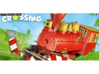Con Level Crossing ahora podr�s conducir un tren divertido y disparatado