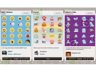 BlackBerry Messenger ahora permite compartir fotos y agrega stickers
