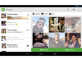 Mensajes de texto y chats, Google los agrupar� en Hangouts
