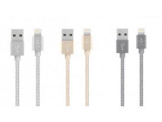 Un toque de color a los cables Lightning para dispositivos Apple