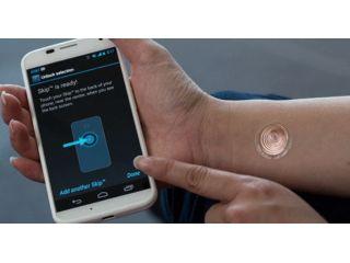 Ahora se podr� desbloquear el smartphone con un tatuaje digital