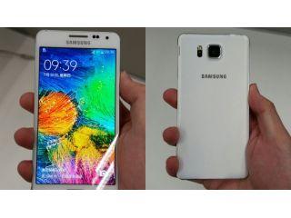 Nuevo dise�o del Samsung Galaxy Alpha