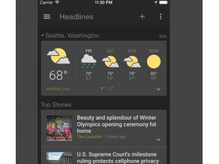 Nueva app de Noticias y Tiempo para dispositivos iOS