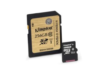 Las tarjetas de memoria de Kingston duplicaron su capacidad