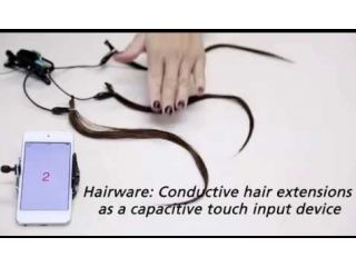 Hairware,  permite controlar tu smartphone con el cabello