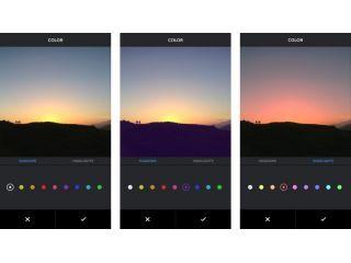Para mejorar el color de las fotos Instagram sum� herramientas