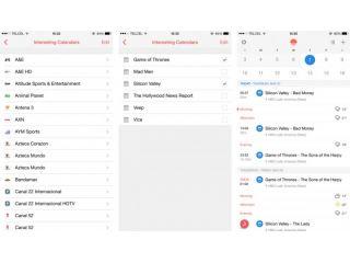 Sunrise Calendar agrega calendarios de programas de TV