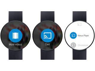 Llegan a Android Wear, los videos de YouTube