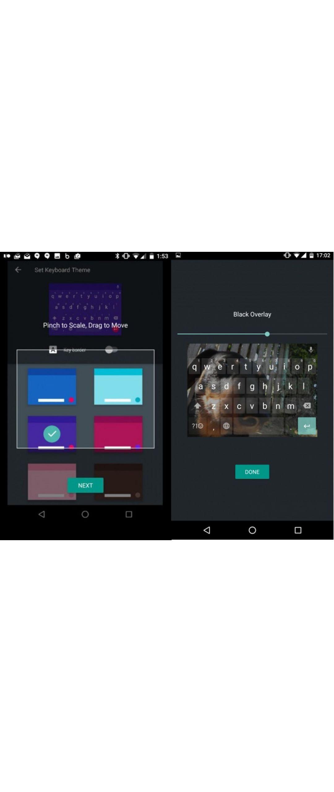 Ya puedes probar temas con la nueva actualizaci�n del teclado de Google