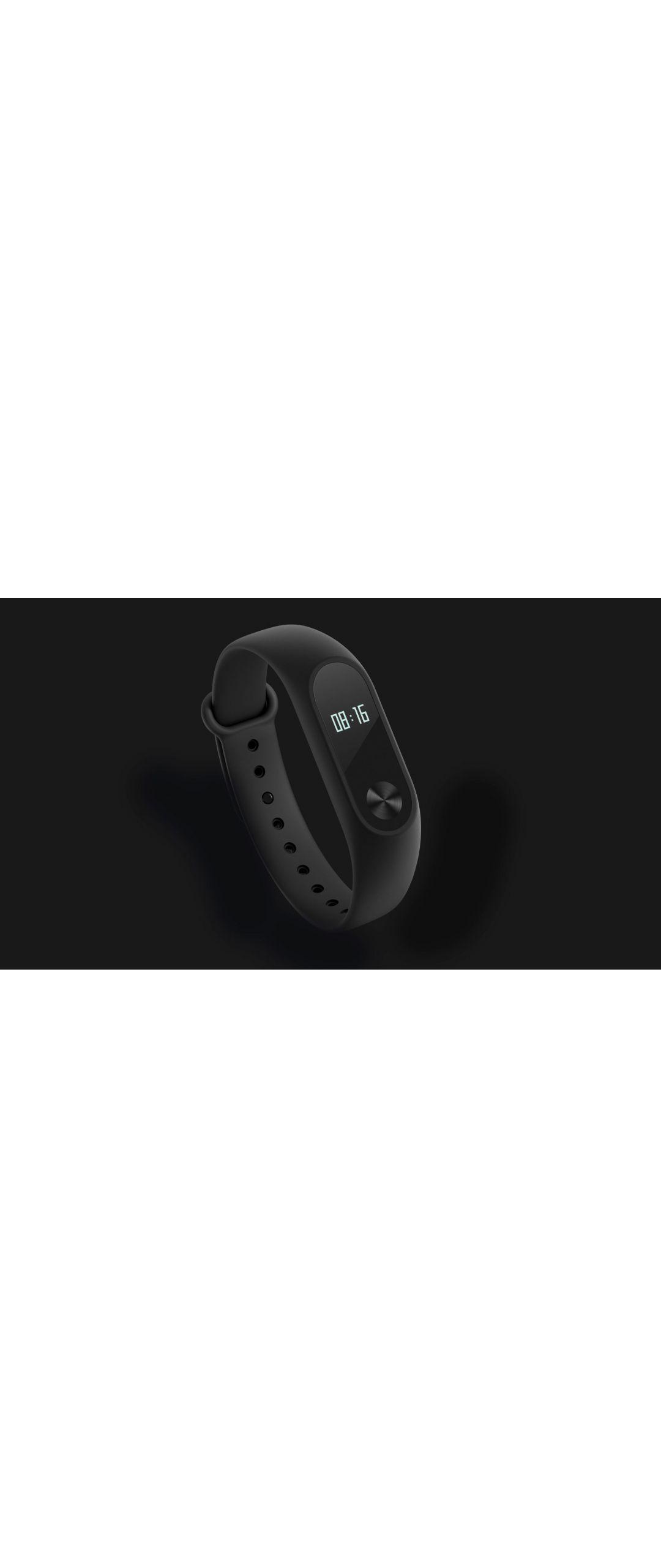 Xiaomi presenta nueva pulsera inteligente Mi Band 2