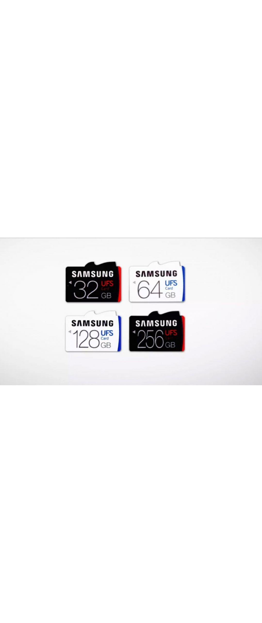 No m�s microSD: Samsung presenta al mundo sus primeras memorias UFS