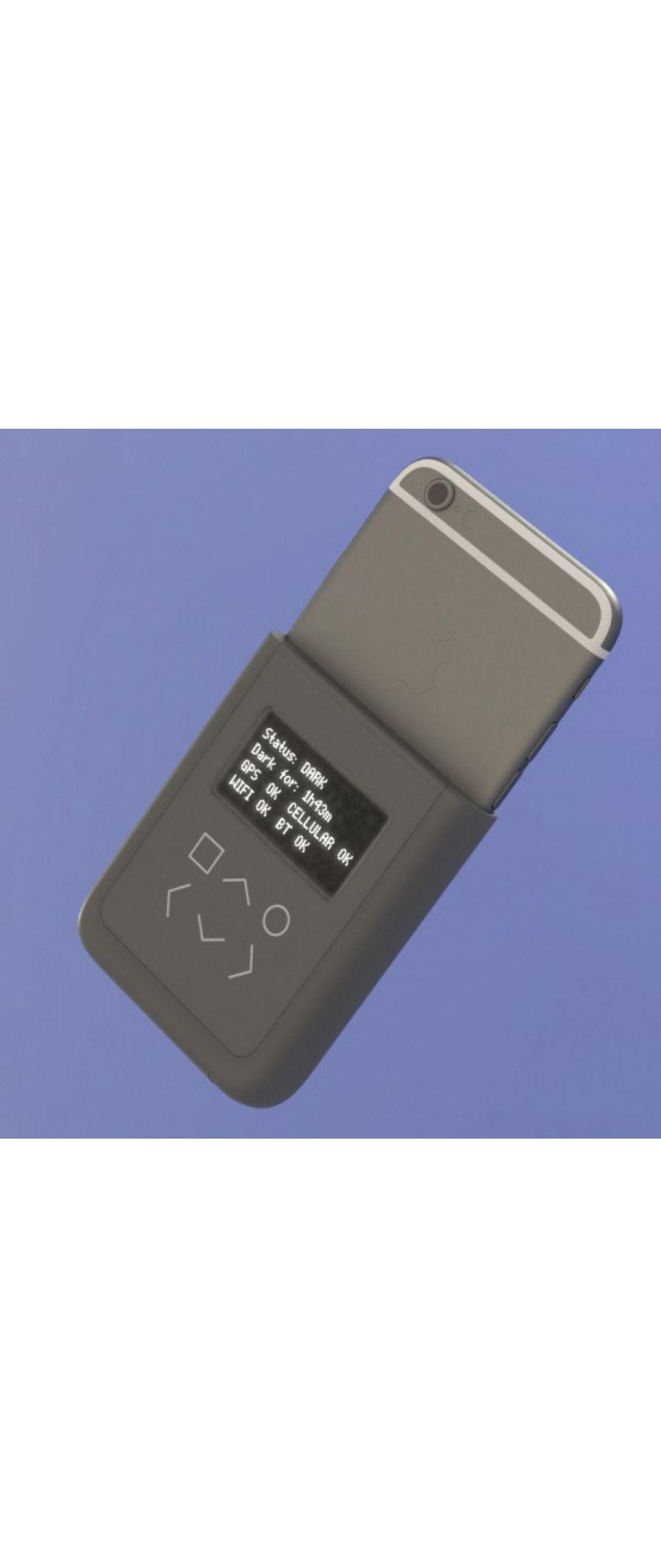 Edward Snowden dise�a un accesorio para evitar que esp�en tu iPhone