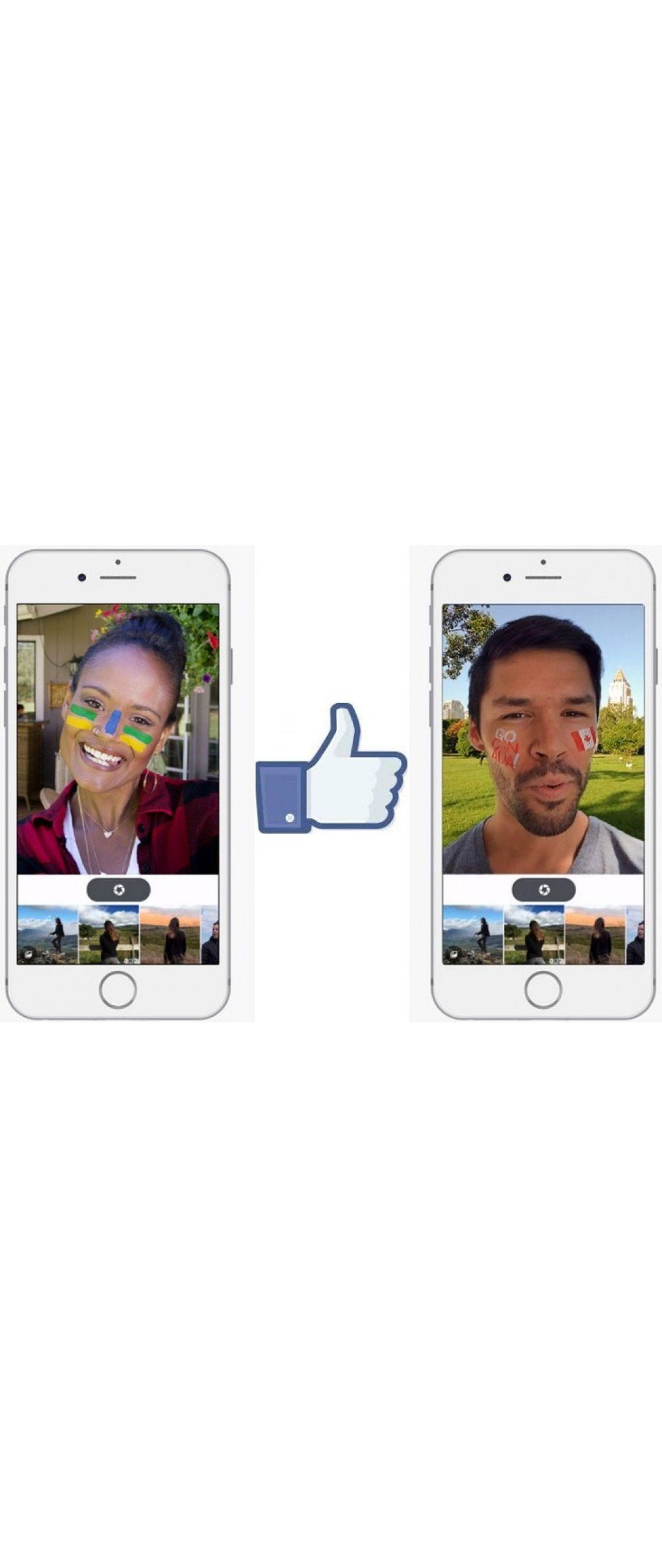 Facebook añade filtros tipo Snapchat a tus fotos y videos