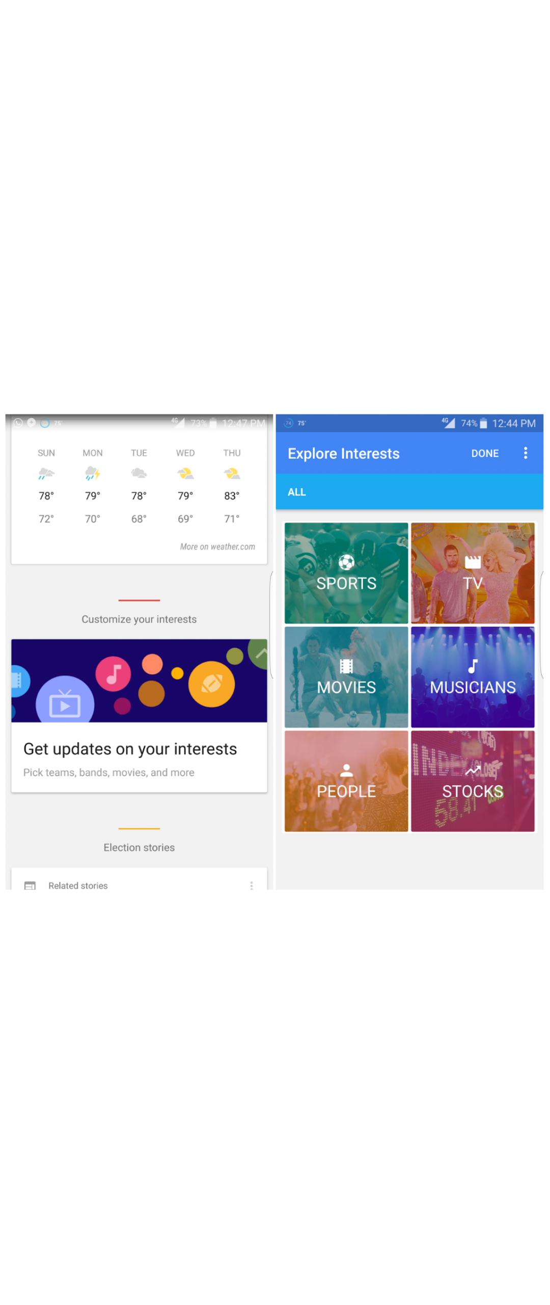 Google Now incorpora caracter�stica para seguir temas de inter�s