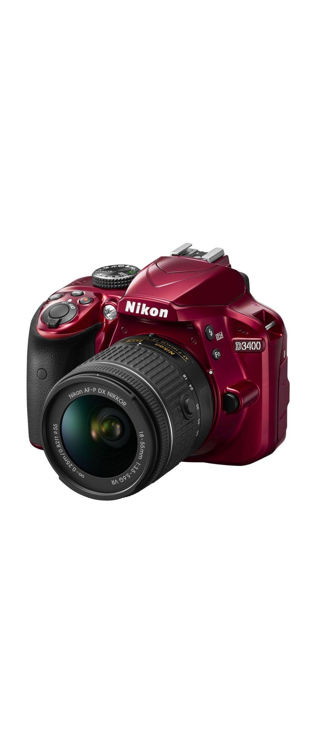 Nikon presenta la r�flex ligera D3400