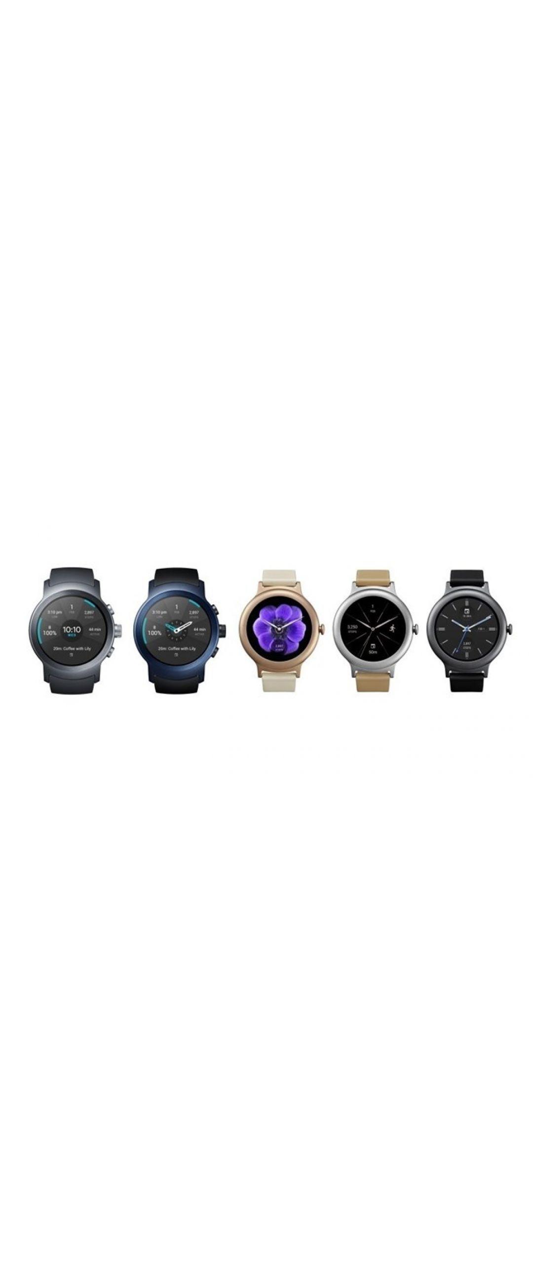 Google anuncia los LG Watch Style y LG Watch Sport