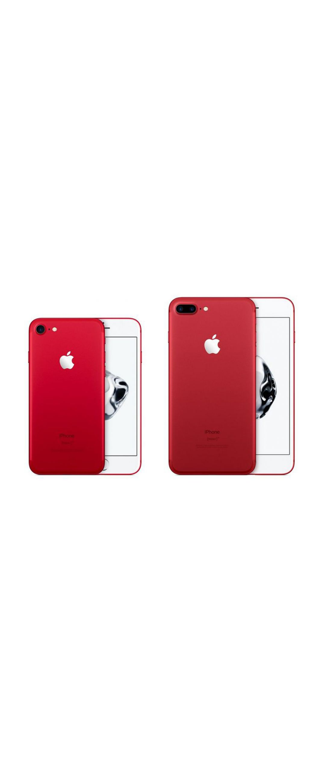 Apple anuncia el iPhone 7 en color rojo