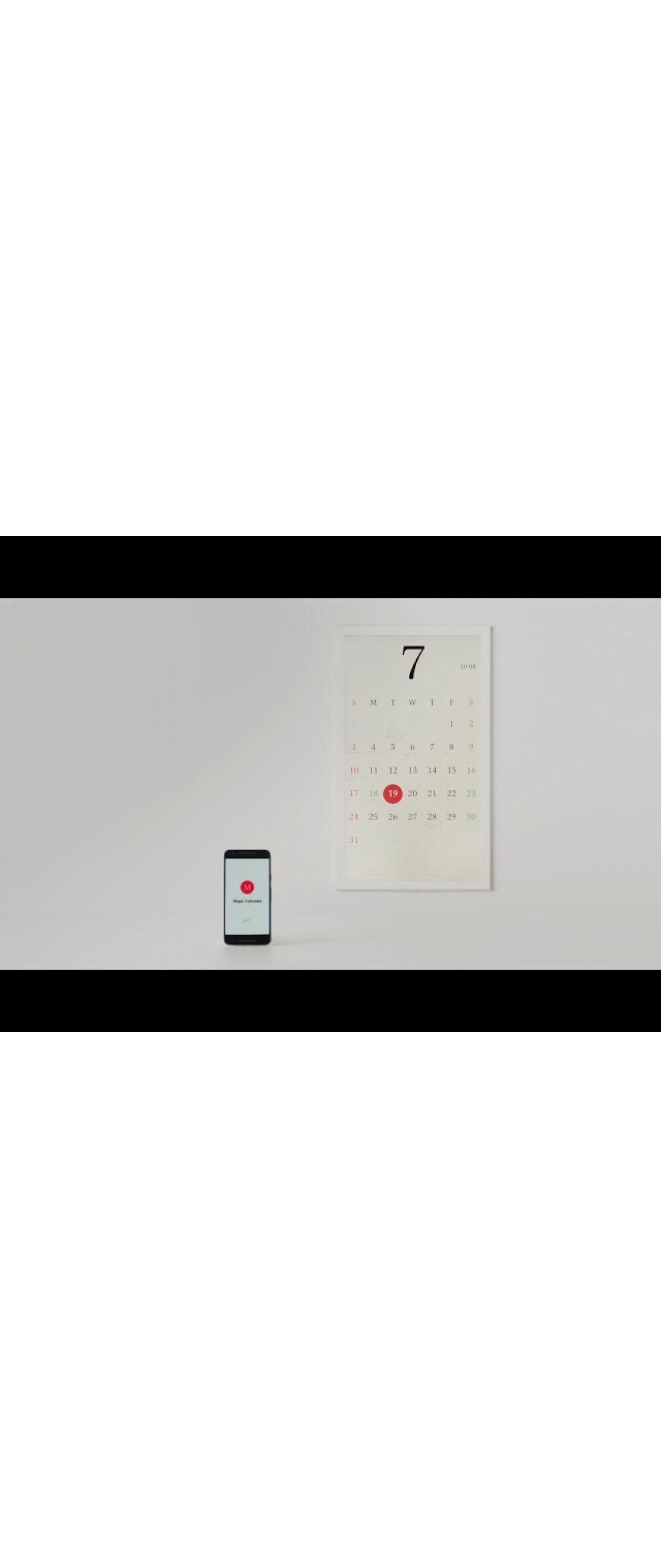 Crean calendario que se sincroniza con nuestros teléfonos móviles