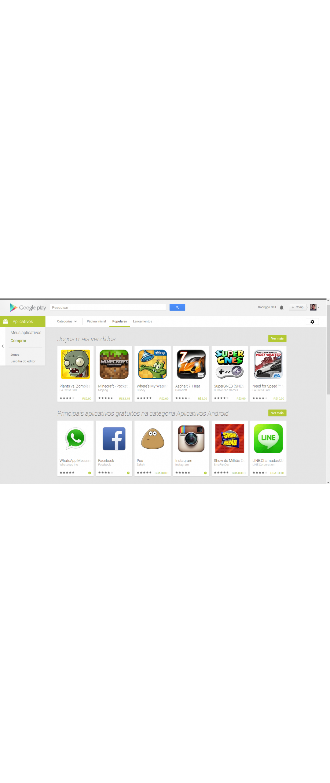 Google cambia su sistema de ranking en la Play Store