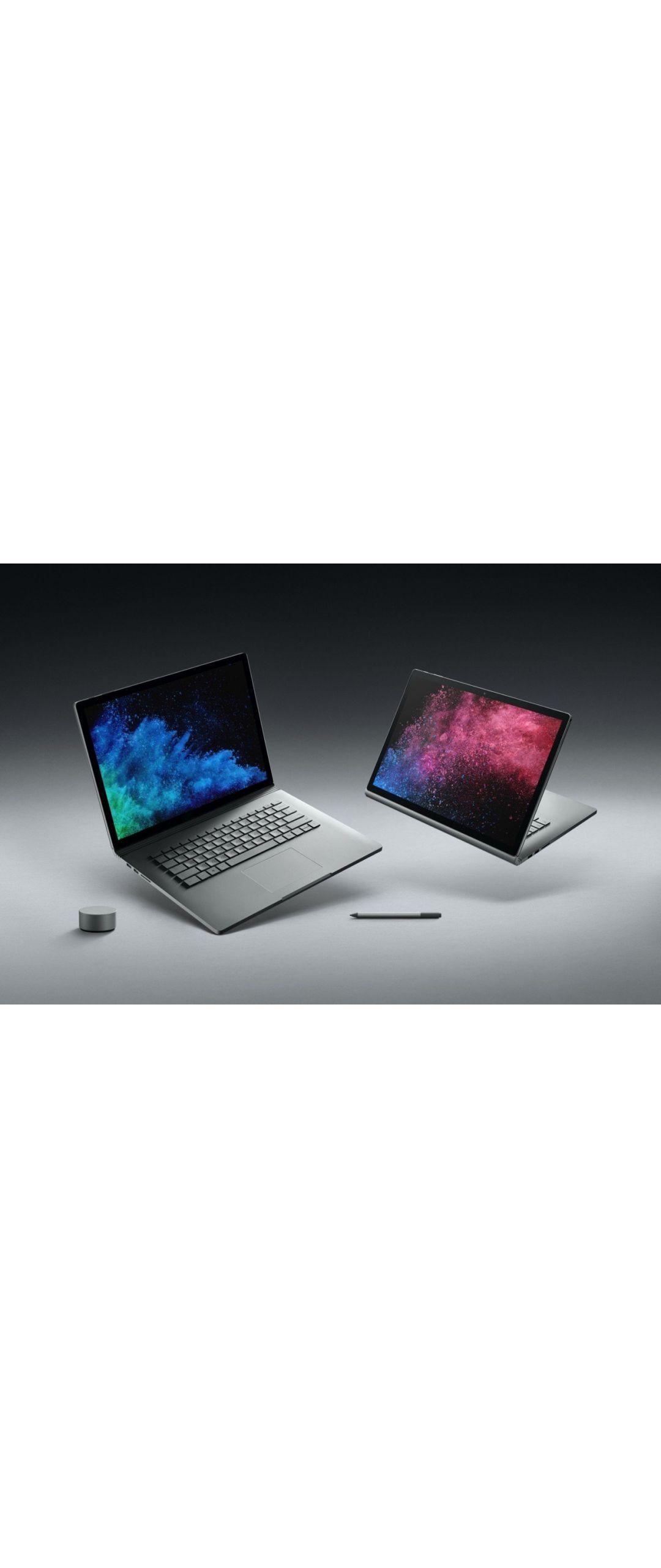 Microsoft presenta la Surface Book 2 como la más poderosa de su historia