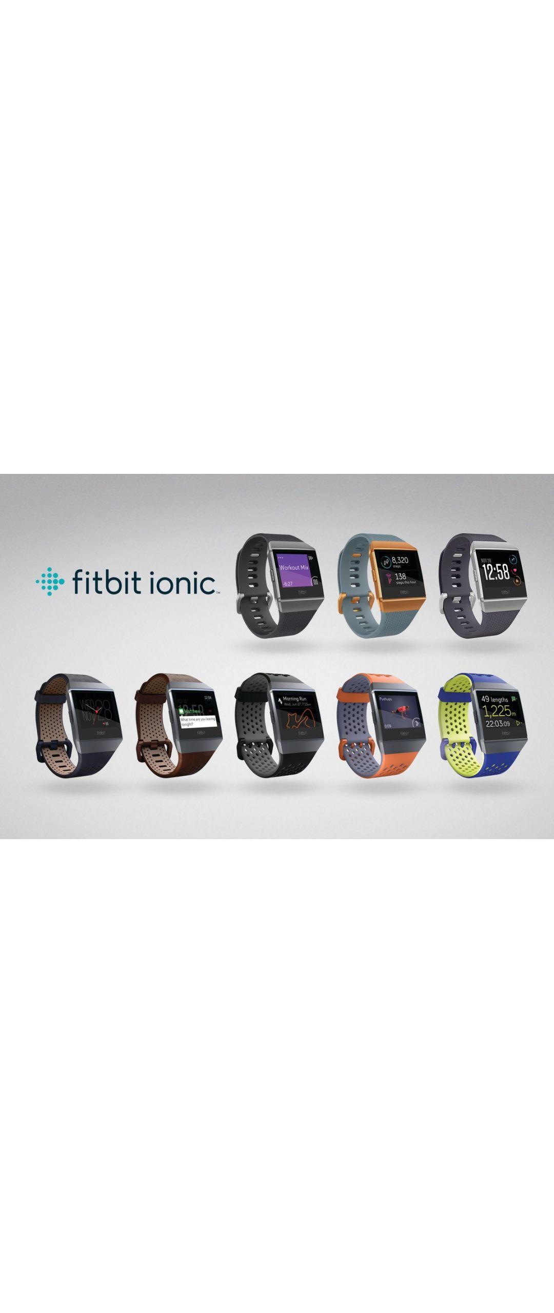 Fitbit Ionic, el primer smartwatch de Fitbit
