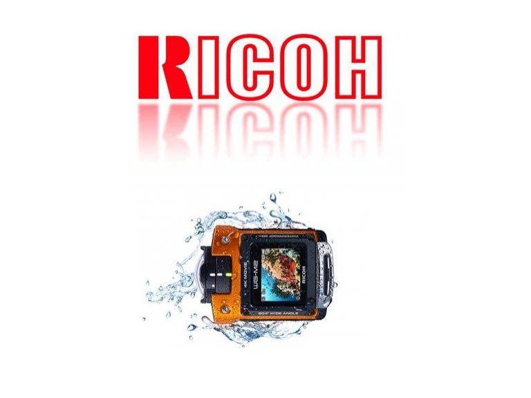 Ricoh presentó una cámara deportiva con un ángulo de visión de 204 grados