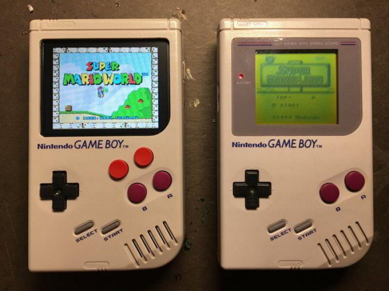 Una Raspberry Pi convertida en Game Boy, Nintendo, Super Nintendo y más
