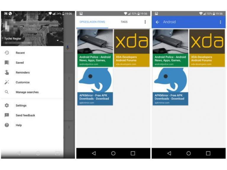 Google prueba función para guardar páginas en su aplicación para Android