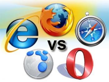 Estadísticas de uso de browsers en internet.