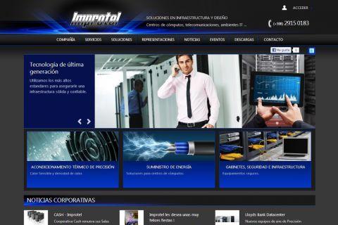 Soluciones en infraestructura y diseño. Centros de cómputos, telecomunicaciones - Energía, control de temperatura, seguridad.