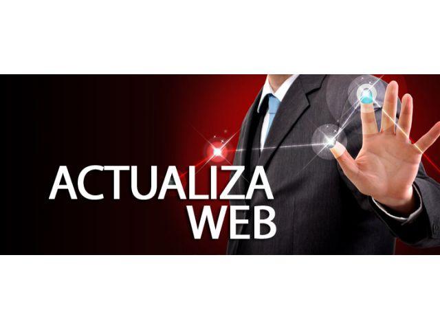 Actualizaci�n de Sitios Web