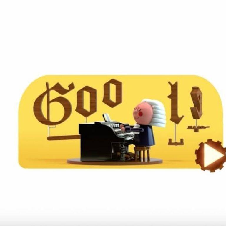 El impresionante doodle con inteligencia artificial que te permite hacer melodías como Bach