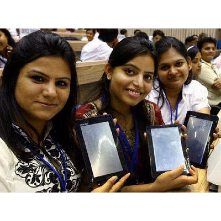 En India fabrican la tablet más barata del mundo