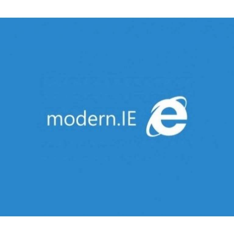 La solución para testear la compatibilidad de tu web se llama MODERN.IE