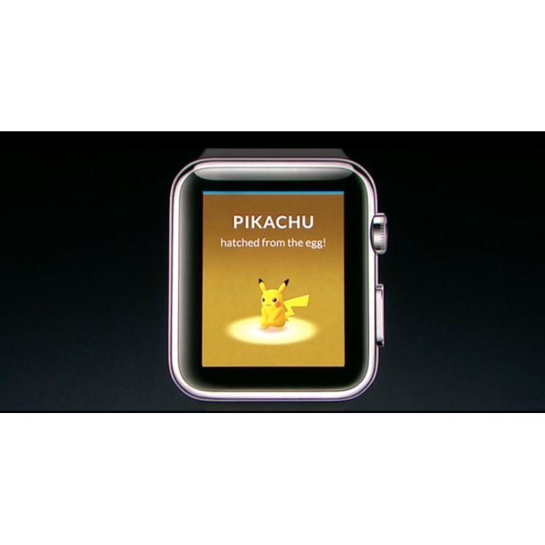 Pokémon Go ya está disponible en el Apple Watch