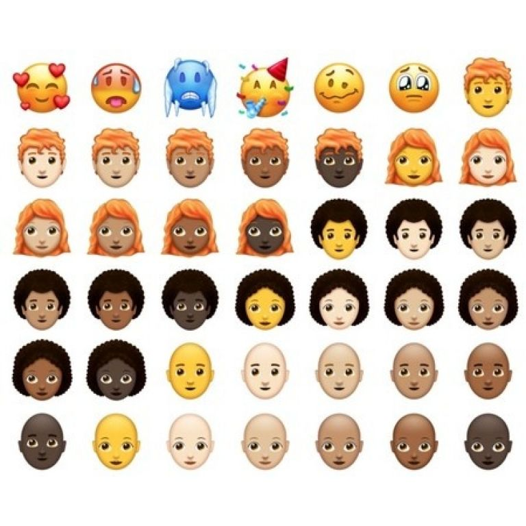 Así lucen los 150 nuevos emojis que llegarán a iOS y Android durante 2018