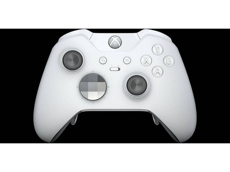 Microsoft presenta consola Xbox One X y control Xbox Elite en color blanco