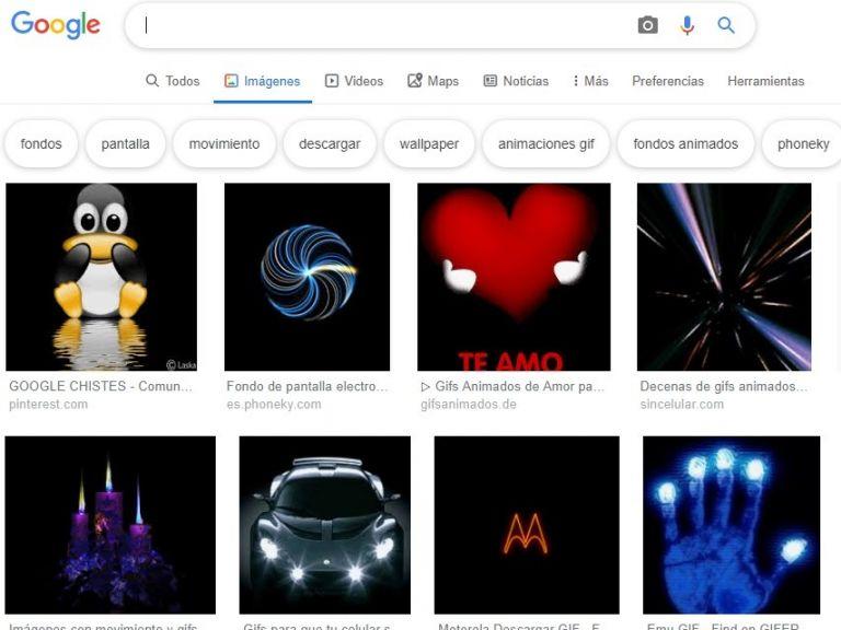Google desde ahora permite compartir GIFs directamente desde el buscador