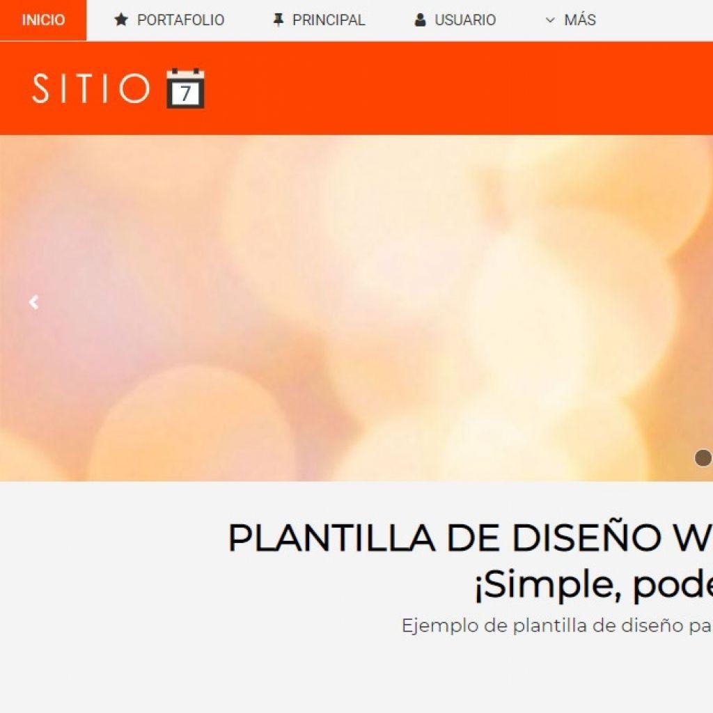 Demo de sitio web institucional y contenidos #7.