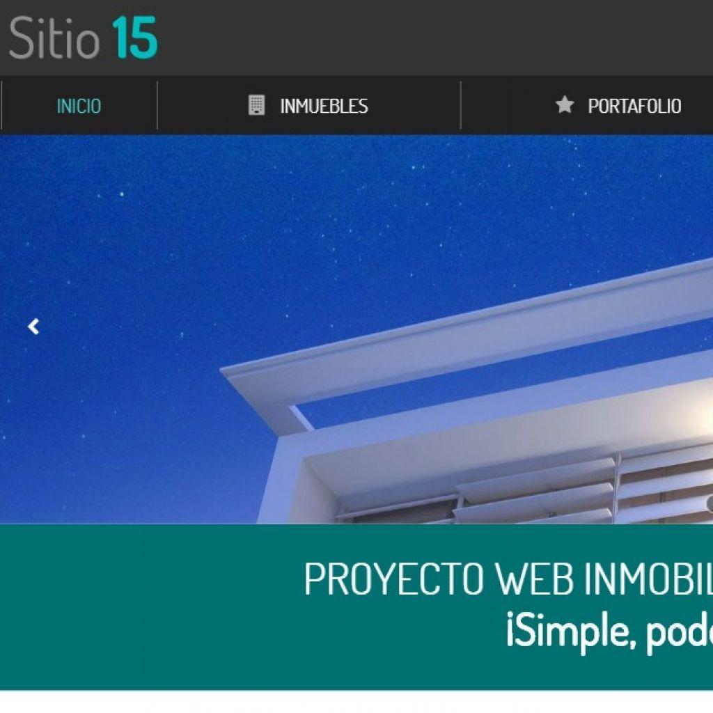 Inmobiliario 15, sitio demo de diseño web plantilla.