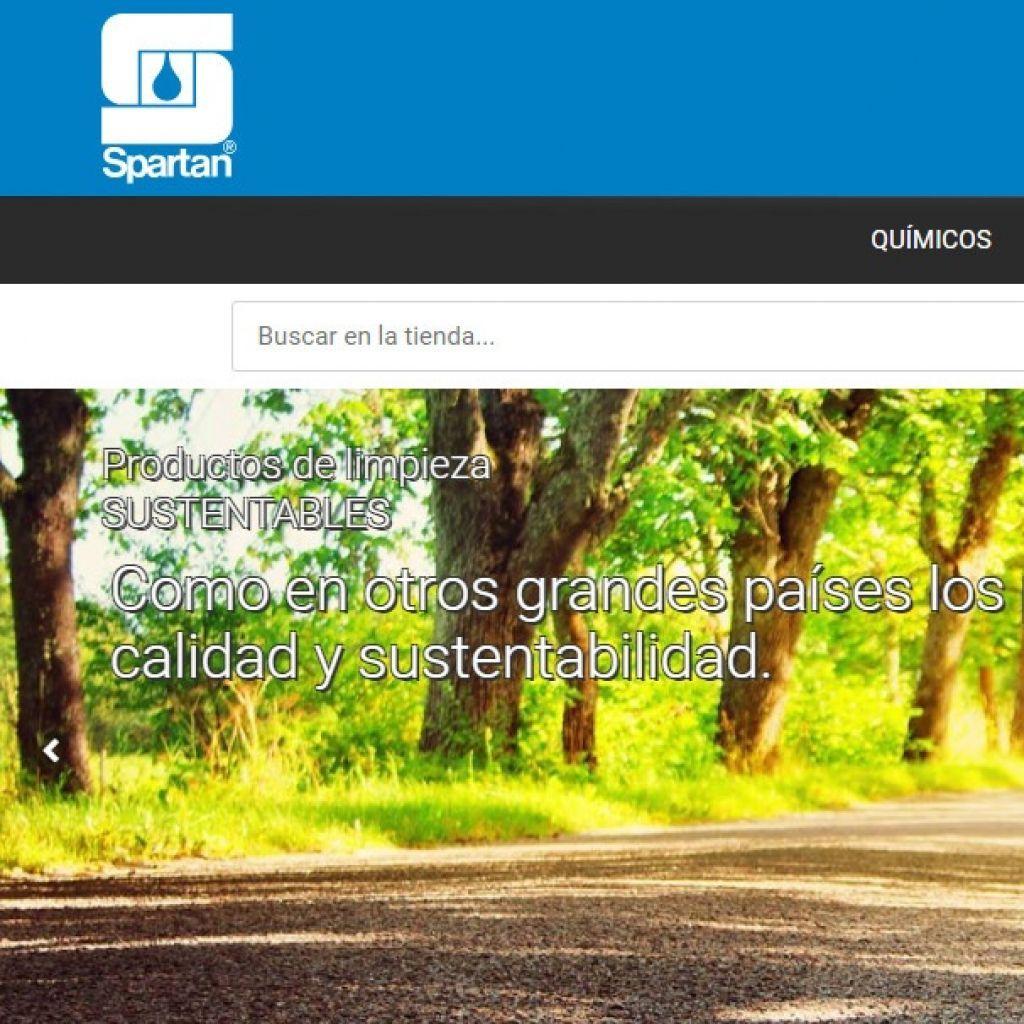 Spartan Uruguay, tienda web con tecnología sublime solutions.