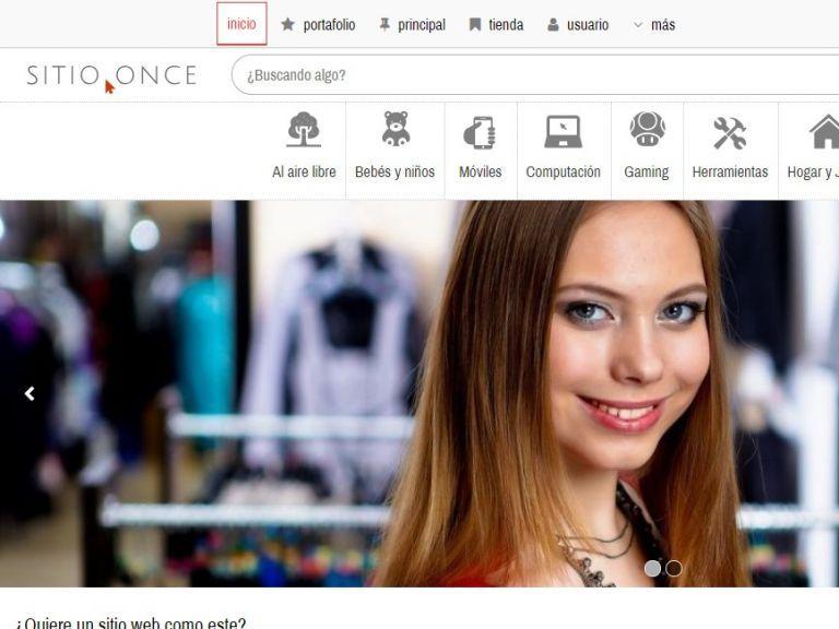 Template profesional para implementación de tienda virtual de productos. - TIENDA 11 . tienda virtual